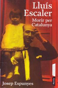 Portada del llibre escrit per Josep Espunyes que podeu consultar a la Biblioteca del Pavelló de la República